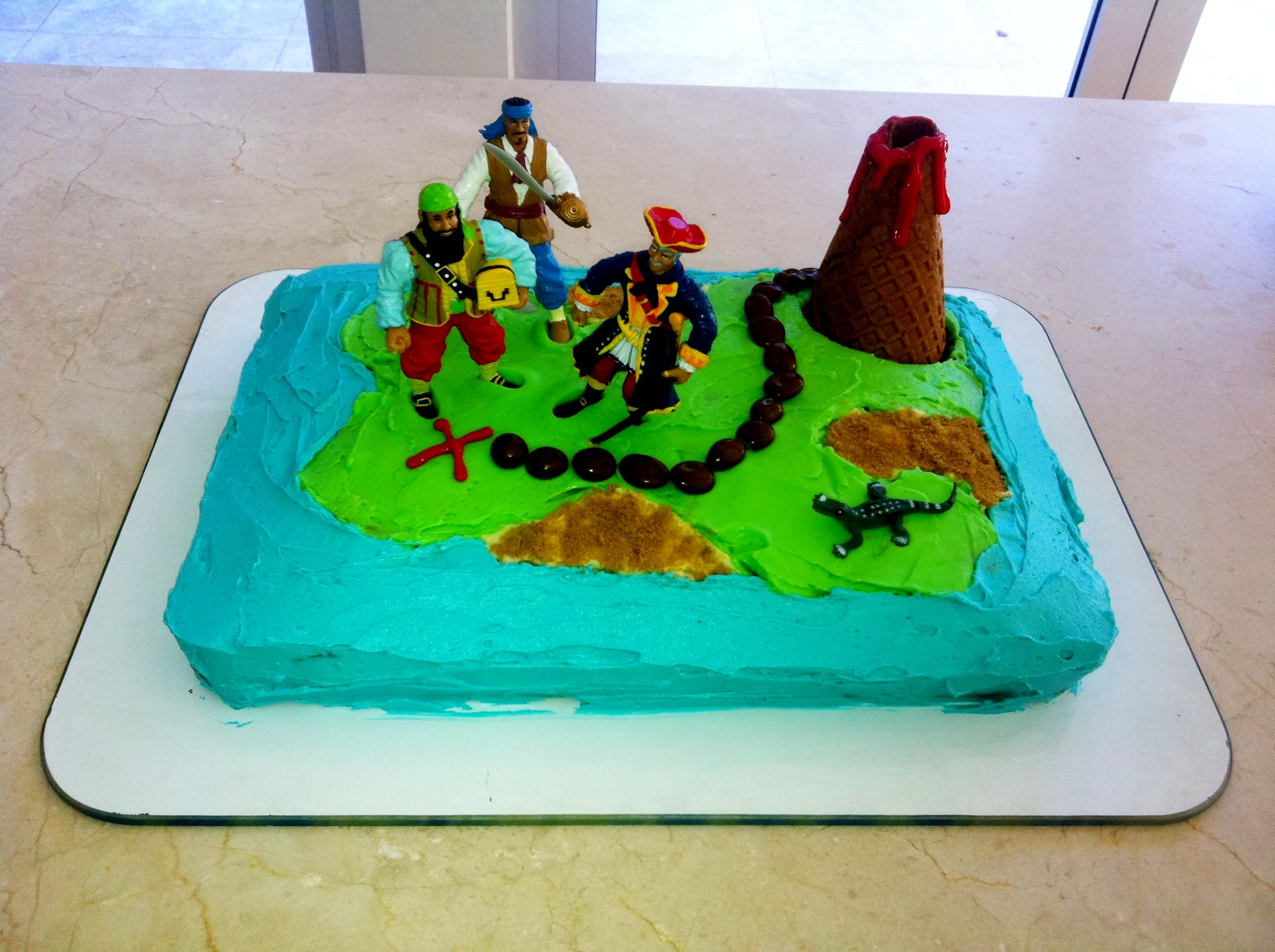 Treasure Island Birthday Cake Thanks Womens Weekly Cake