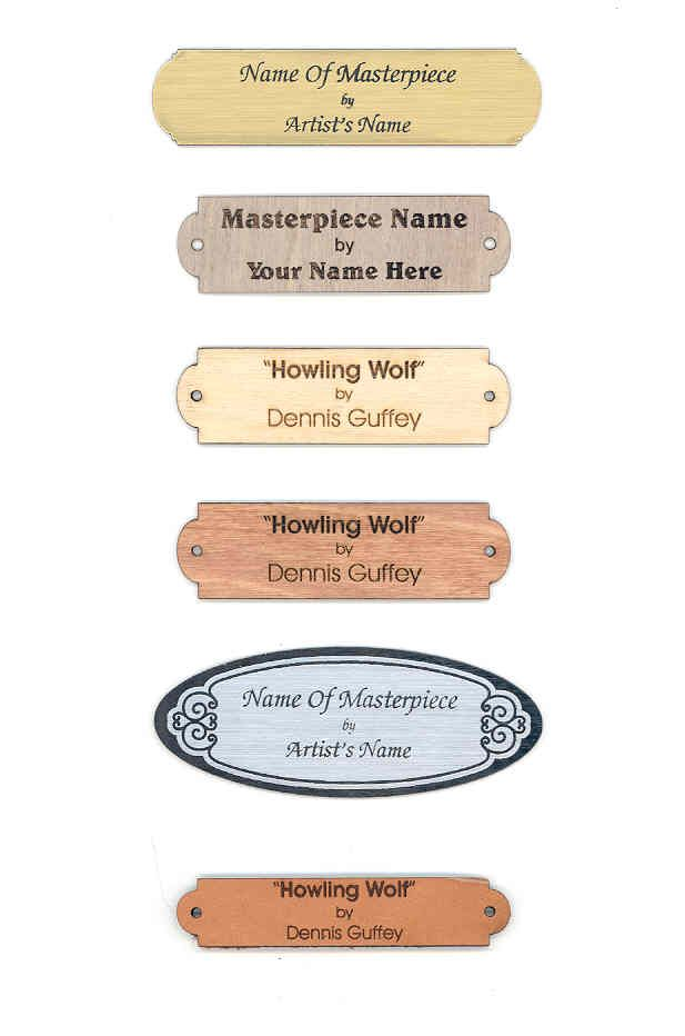 Click To View All Our Varieties Of Identification Name Plates For Your Art Engraved Name Plates Name Paintings Lemon Painting