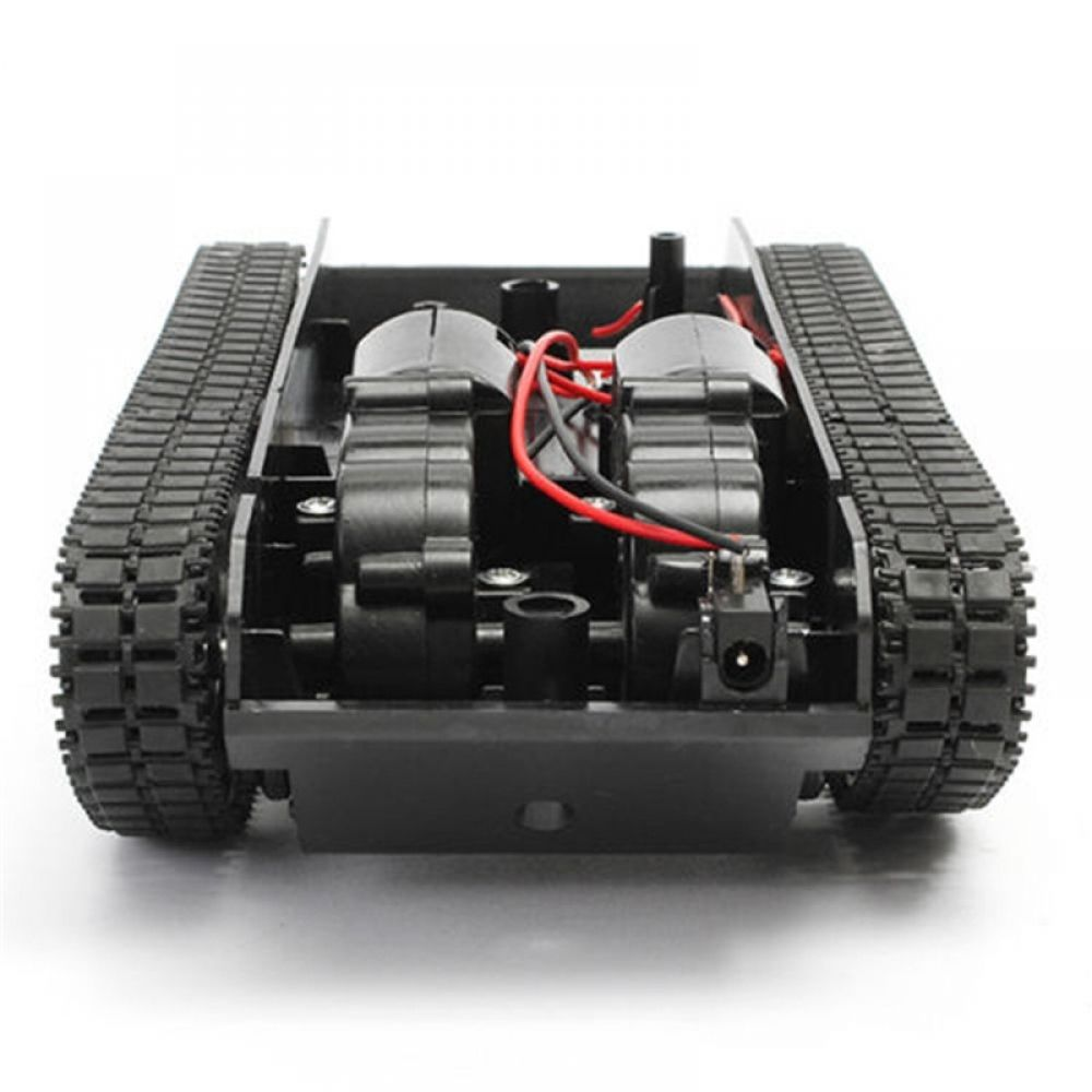 Smart DIY Robot Tank Chassis Tracking Light Shock Absorbed Car Kit for