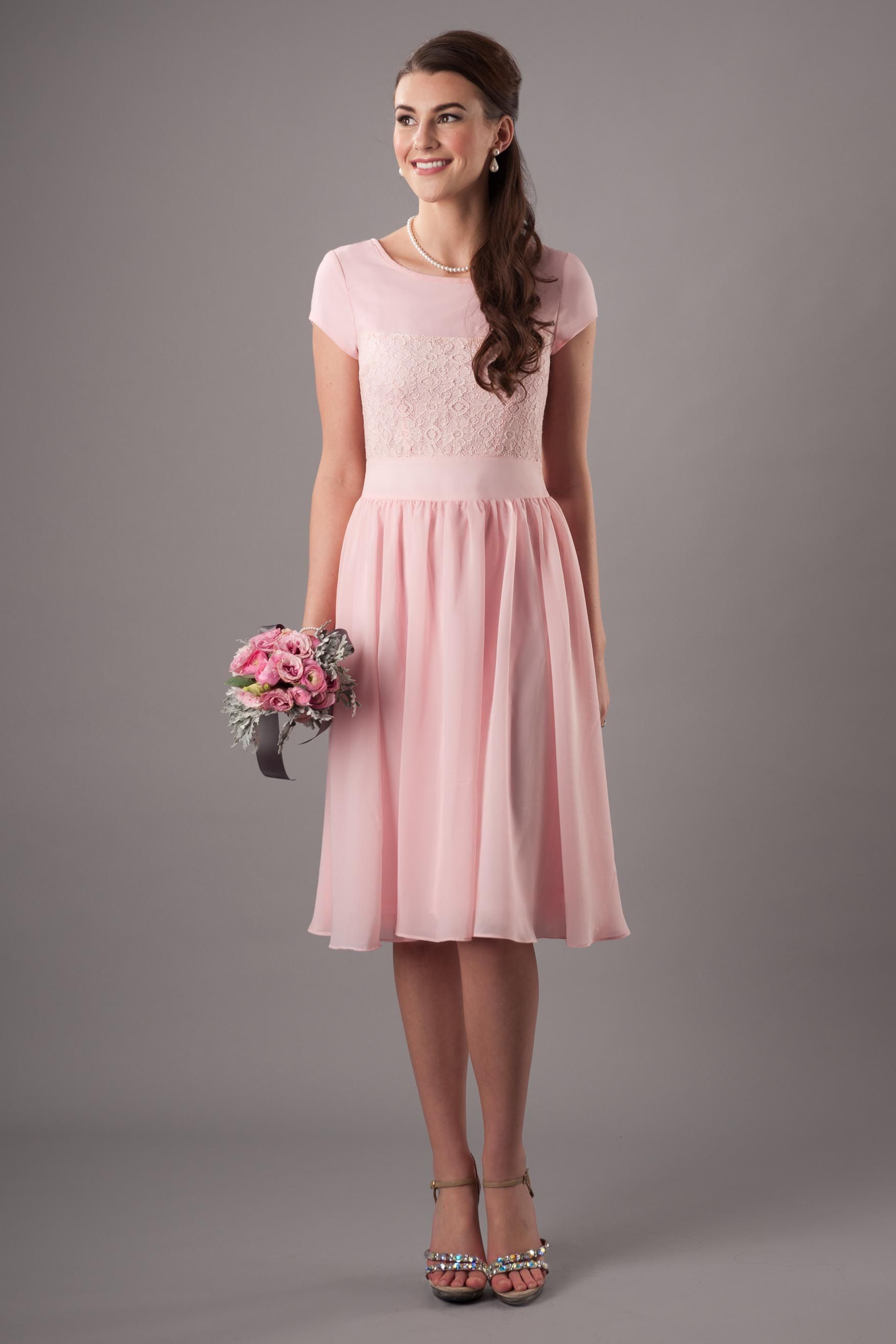MDS 001 - Modest Bridesmaid Dress | Modest Bridesmaid Dresses ...