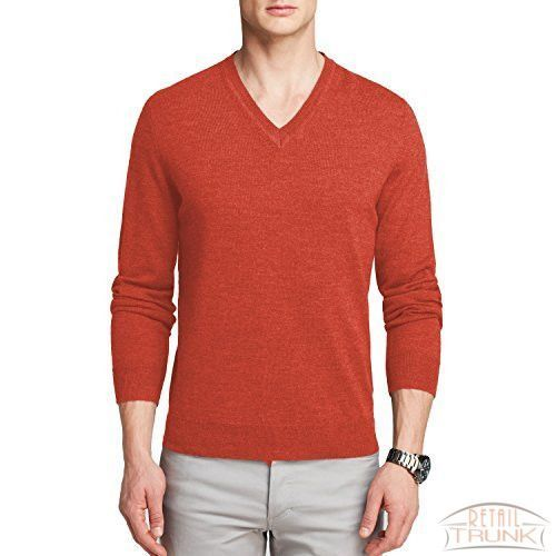 The Men's Store at Bloomingdale's Merino V-Neck Sweater Watermelon XL