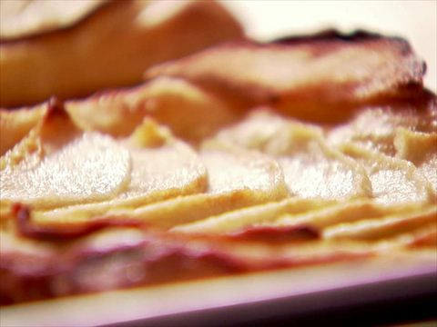 Ina's French Bistro Apple Tart (02:59)   Ina turns a classic French bistro dessert into individual mini apple tarts.