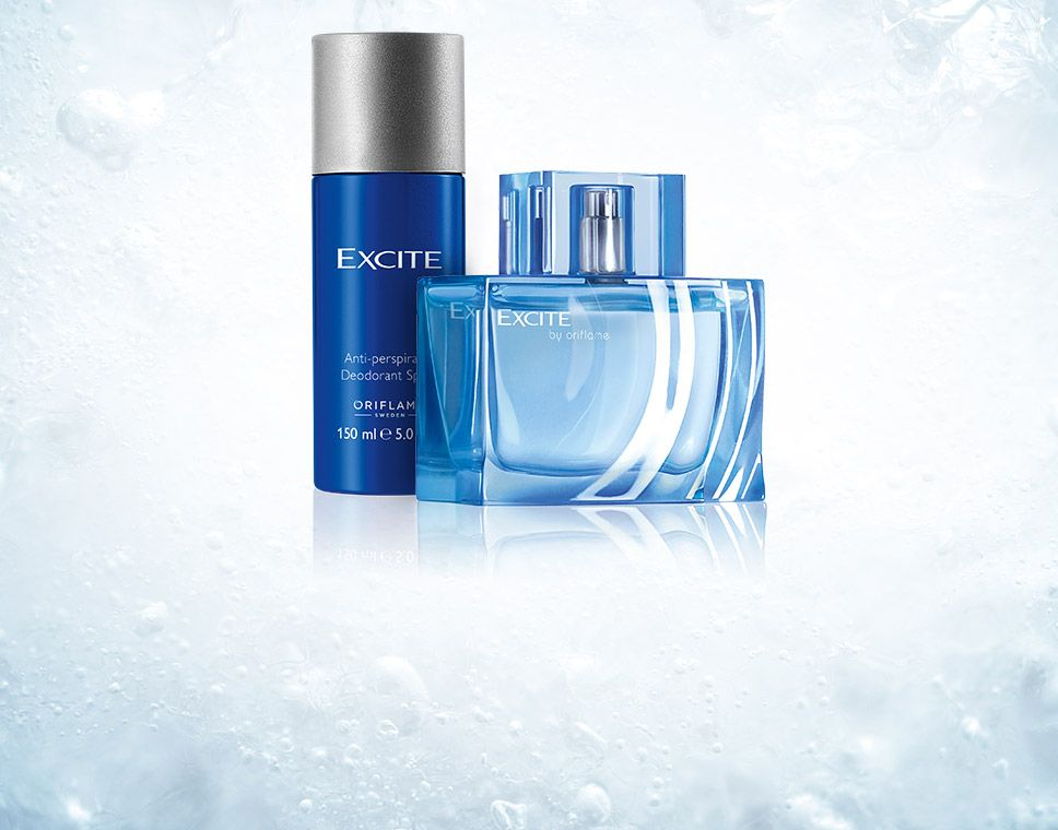Hombres/Excite | By Oriflame cosmetics