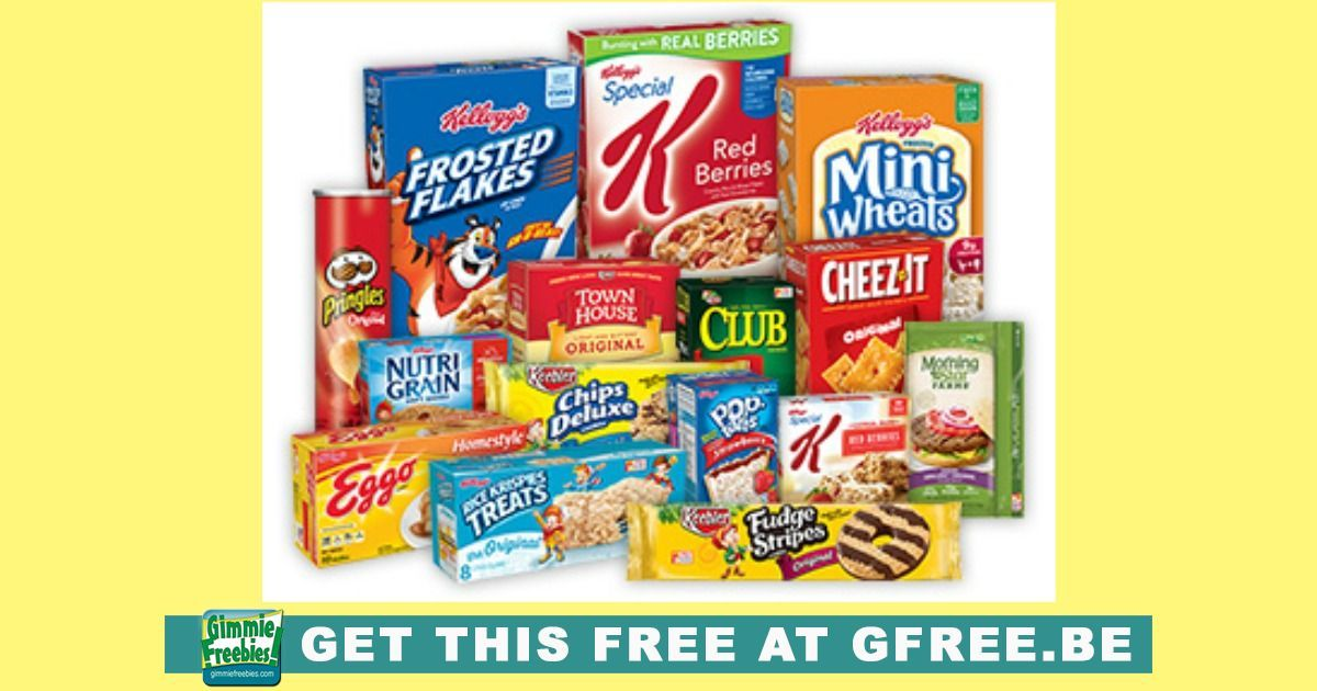 Free Kellogg S Products By Joining The K Insiders Kelloggs