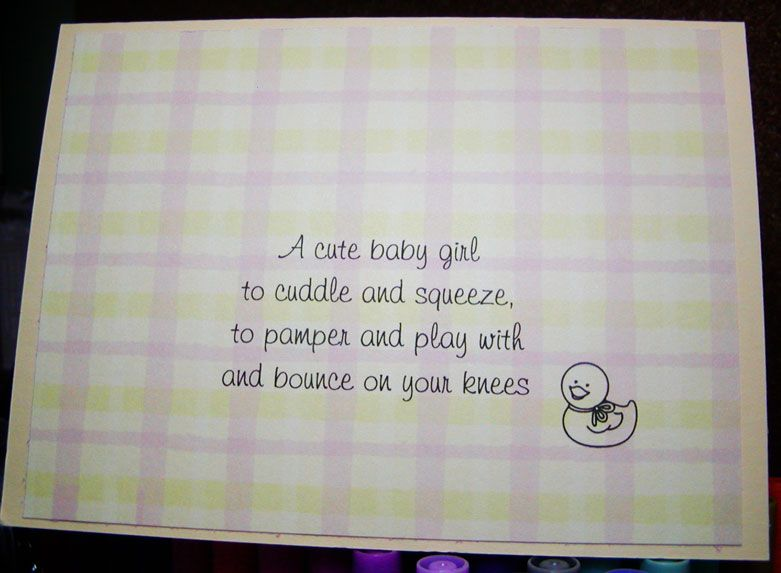 baby girl poems | Results for Welcome Baby Girl Poem ...