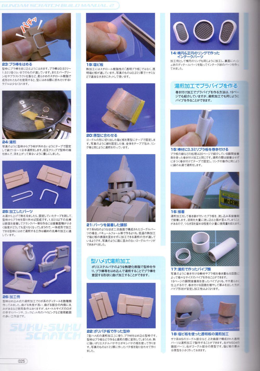 gundam scratch build manual download