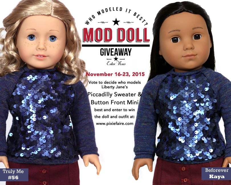Win this Liberty Jane Outfit and an American Girl Doll - Enter Mod ...
