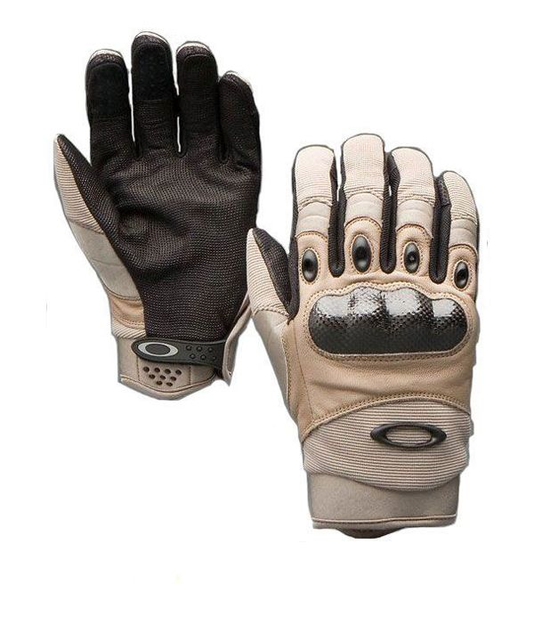 oakley pilot gloves khaki