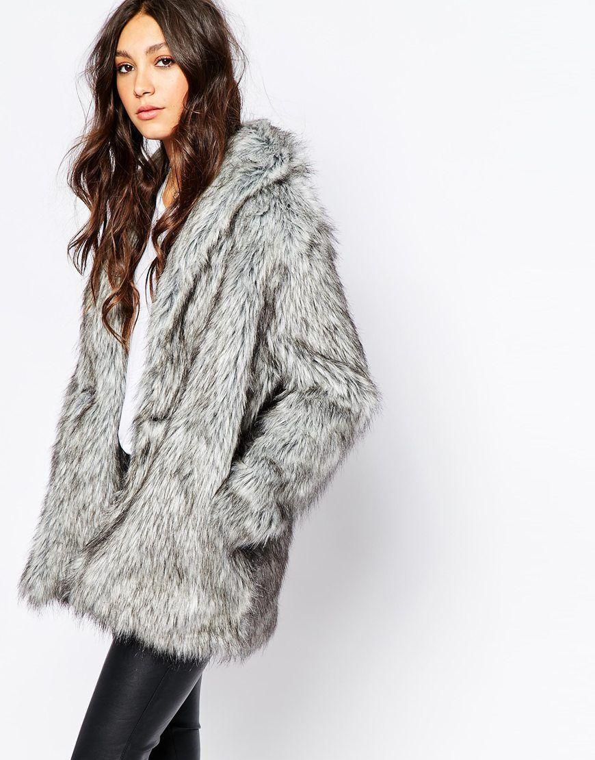 Fake fur mantel waschen