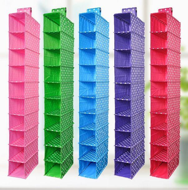 La Moda De Tela Oxford Estilo Ikea Colgante Organizador Del Armario 10 Shelfs Lavable Del Organiza Ordenador De Zapatos Zapatero De Tela Organizador De Zapatos