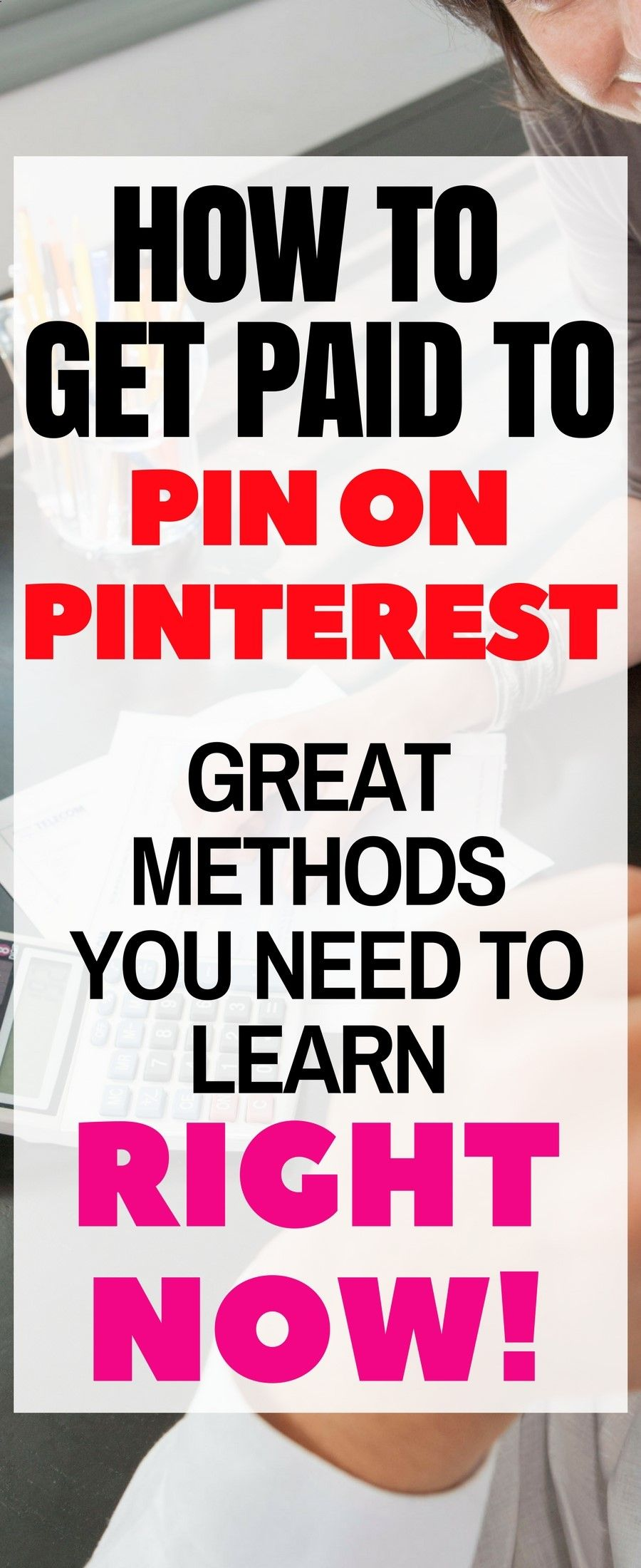 How to make money on Pinterest| Real ways to make money ...