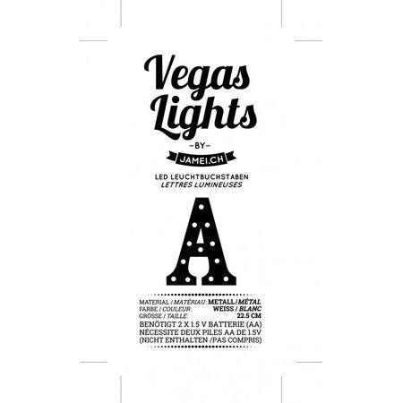 Vegas lights led leuchtbuchstabe a