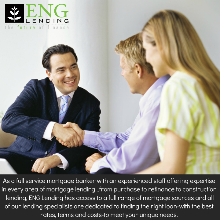 As A Full Service Mortgage Banker With An Experienced Staff