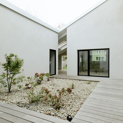We love: This low-cost home in Austria has a secret garden at its centre...