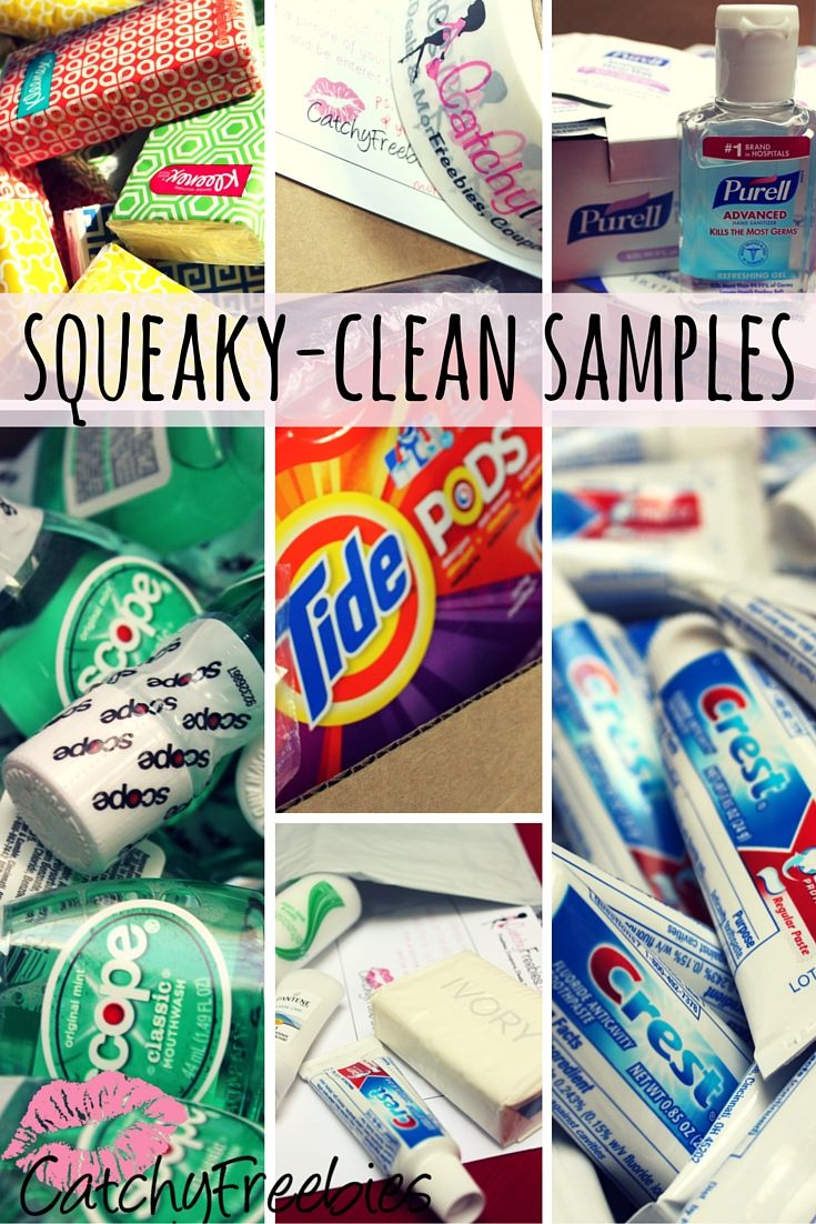 Find Squeaky Clean Samples At Catchyfreebies Com Each Week 5