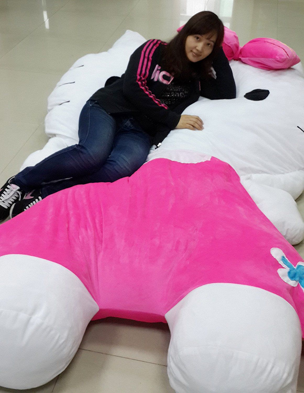 Cute Hello Kitty Sleeping Bag Sofa Bed Twin Bed Double Bed
