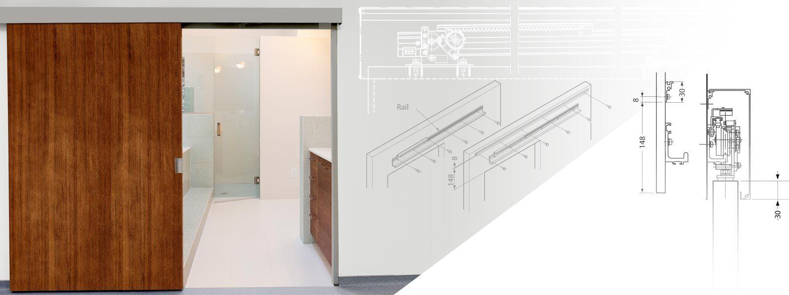 Sugatsune Architectural Cabinet Hardware Concealed Door Hinges Stainless Steel Doors Sliding Door Hardware
