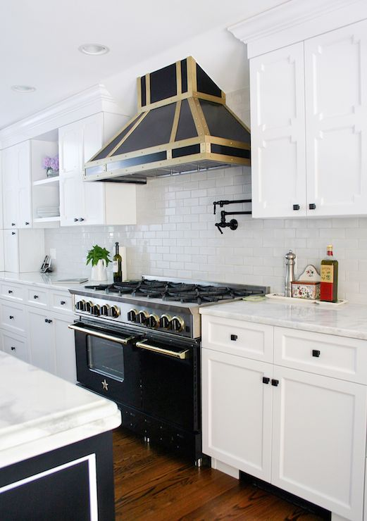 bluestar range - contemporary - kitchen - benjamin moore