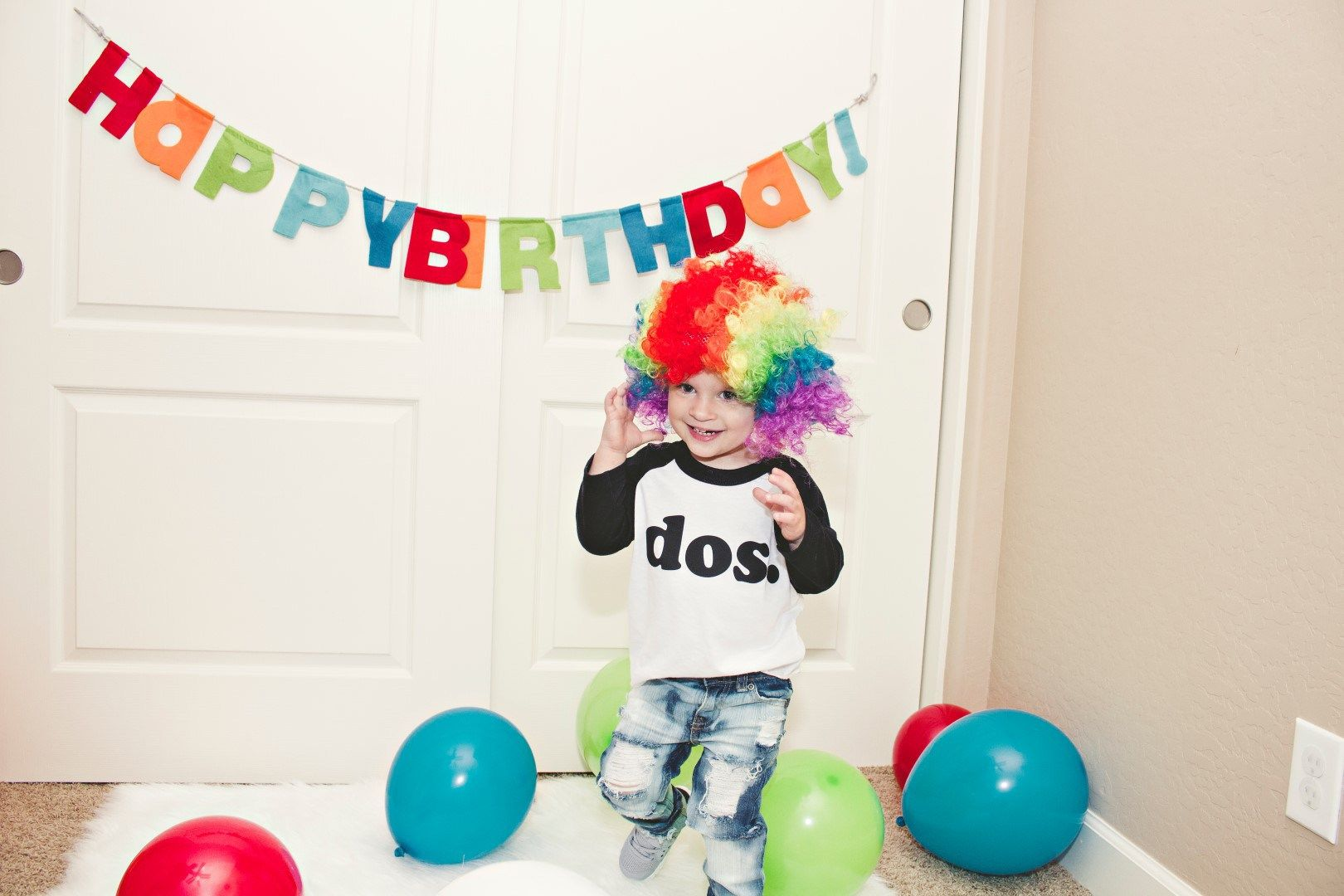 Easy Stress-Free Toddler Birthday Pictures