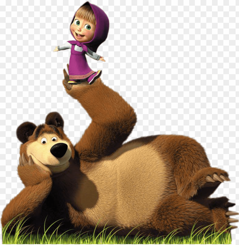 Download Masha Y El Oso Png Image With Transparent Background Png Free Png Images Masha And The Bear Marsha And The Bear Bear Birthday