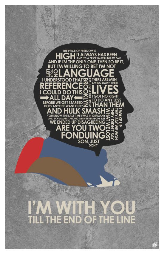 Captain America Poster With Images Quote Posters Captain