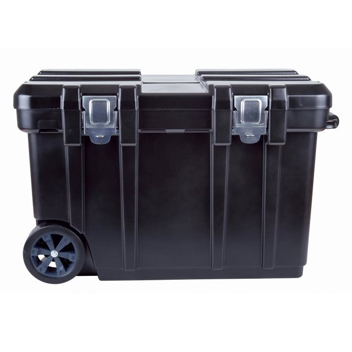 blue hawk black plastic wheeled jobsite tool tote equipment storage box in home u0026 garden tools tool boxes belts u0026 storage boxes u0026 cabinets - Lockable Storage Box