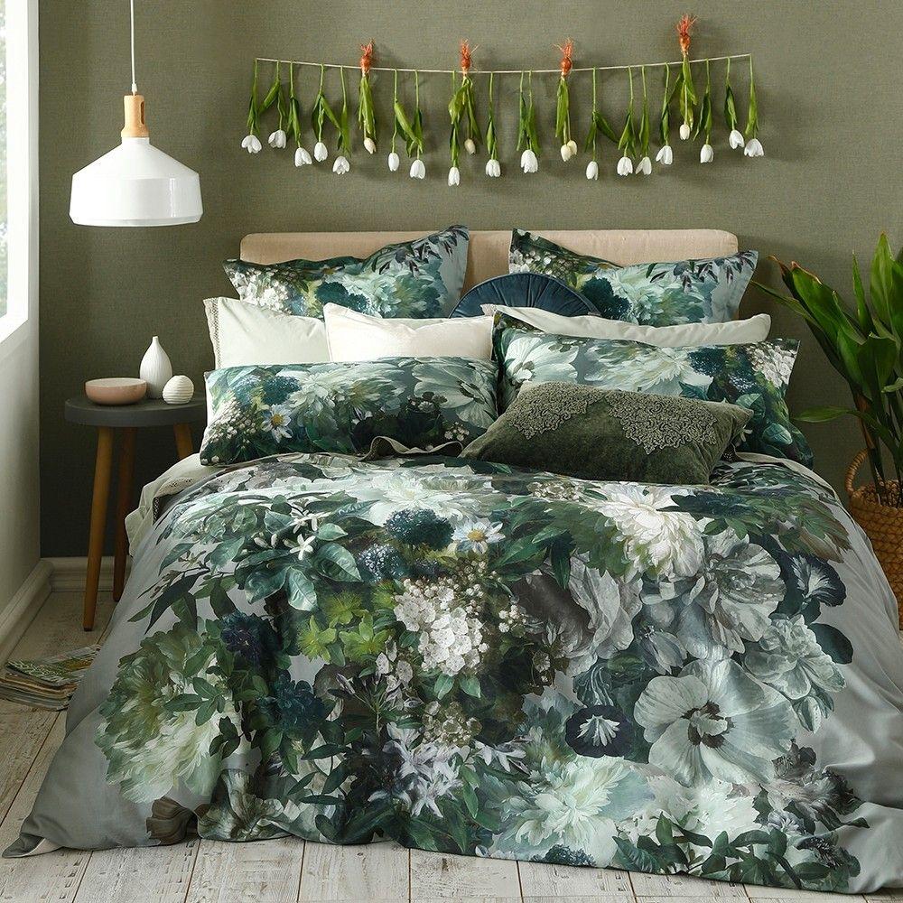Florian Duvet Cover Set By Mm Linen Duvet Cover Sets Duvet Sets Sage Green Bedroom