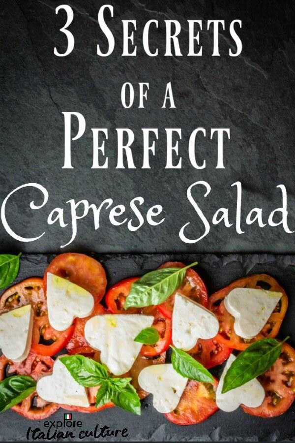 Photo of 3 secrets of a perfect Caprese salad.