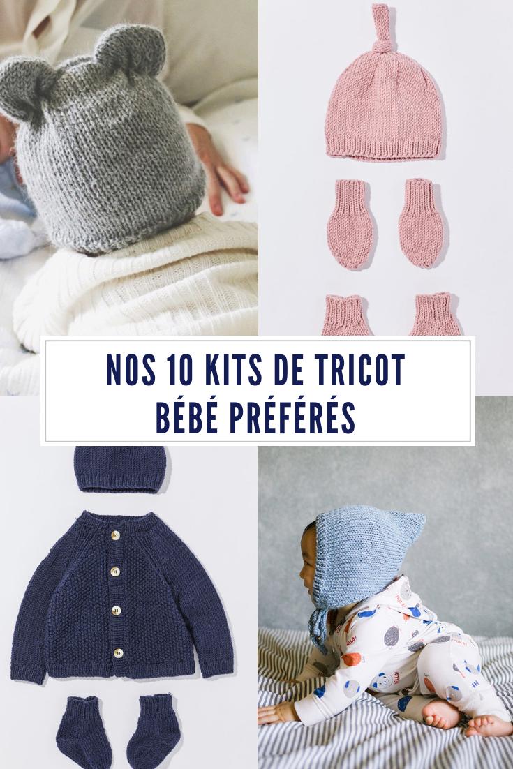 Kit de tricot bébé   nos 10 modèles préférés   tutos couture bb ... e562e6ae101