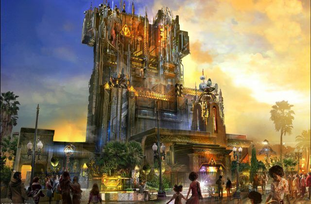 New Disney Ride Guardians of the Galaxy Mission: BREAKOUT! Photos Opens May 27th