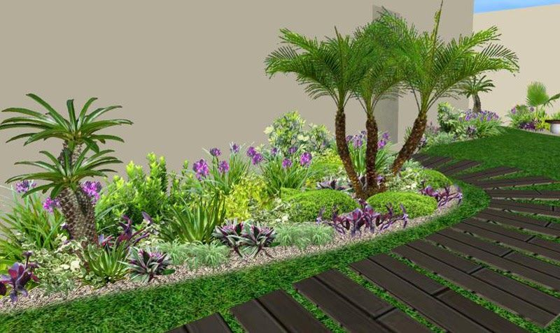 Como tabajamos dise o construcci n de jardines obras for Como decorar parques y jardines