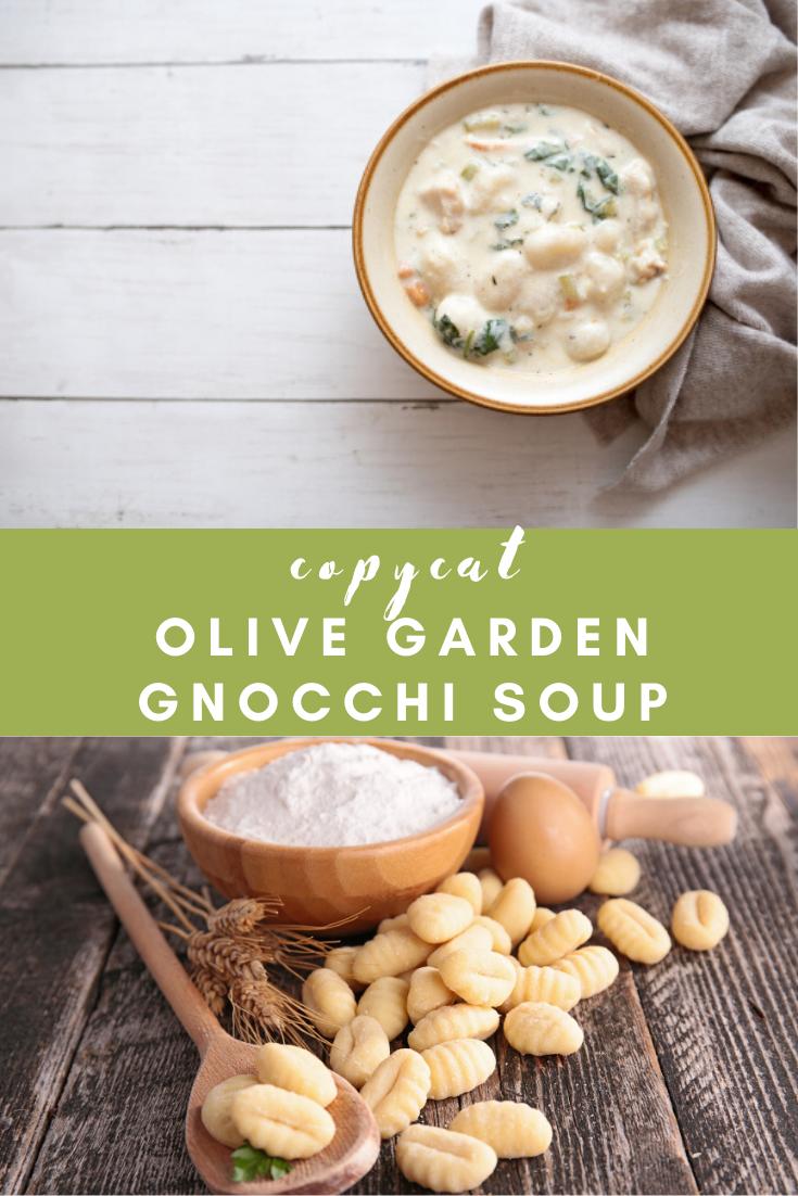 Olive Garden Gnocchi Soup Recipe Fast Food Menu Prices