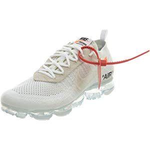 fe5043521b1 Nike Air Vapormax x Off White - White Black-Total Orange Trainer ...