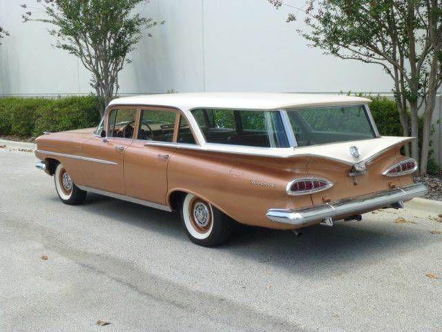 1959 Chevrolet Brookwood Station Wagon Chevrolet Wagons