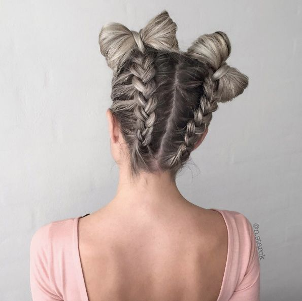 35 Gorgeous Bow Bun Updos Youll Really Really Like O L I V I A