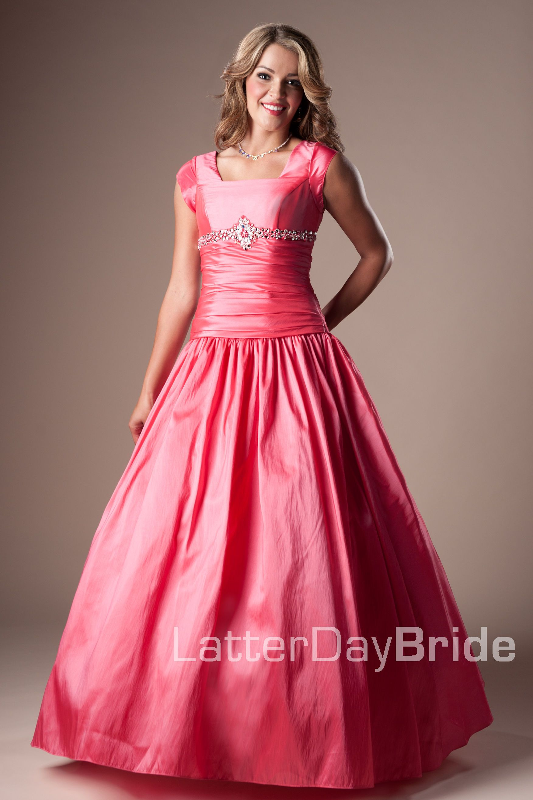 Bridesmaid & Prom, Sherry | LatterDayBride & Prom -Modest Mormon LDS ...