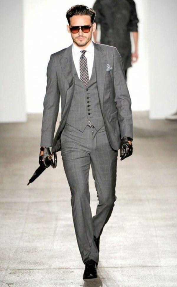 Englischer Anzug klassische Eleganz für modebewusste