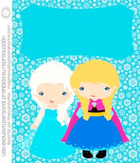 Invitaciones De Frozen Para Editar E Imprimir Gratis