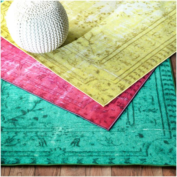 Nuloom Vintage Inspired Overdyed Rug Ping Great Deals On 7x9