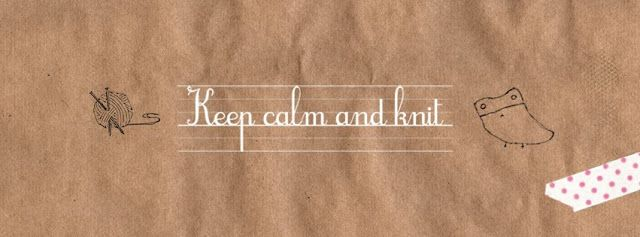 Creative Café - Keep Calm and Knit #handmade