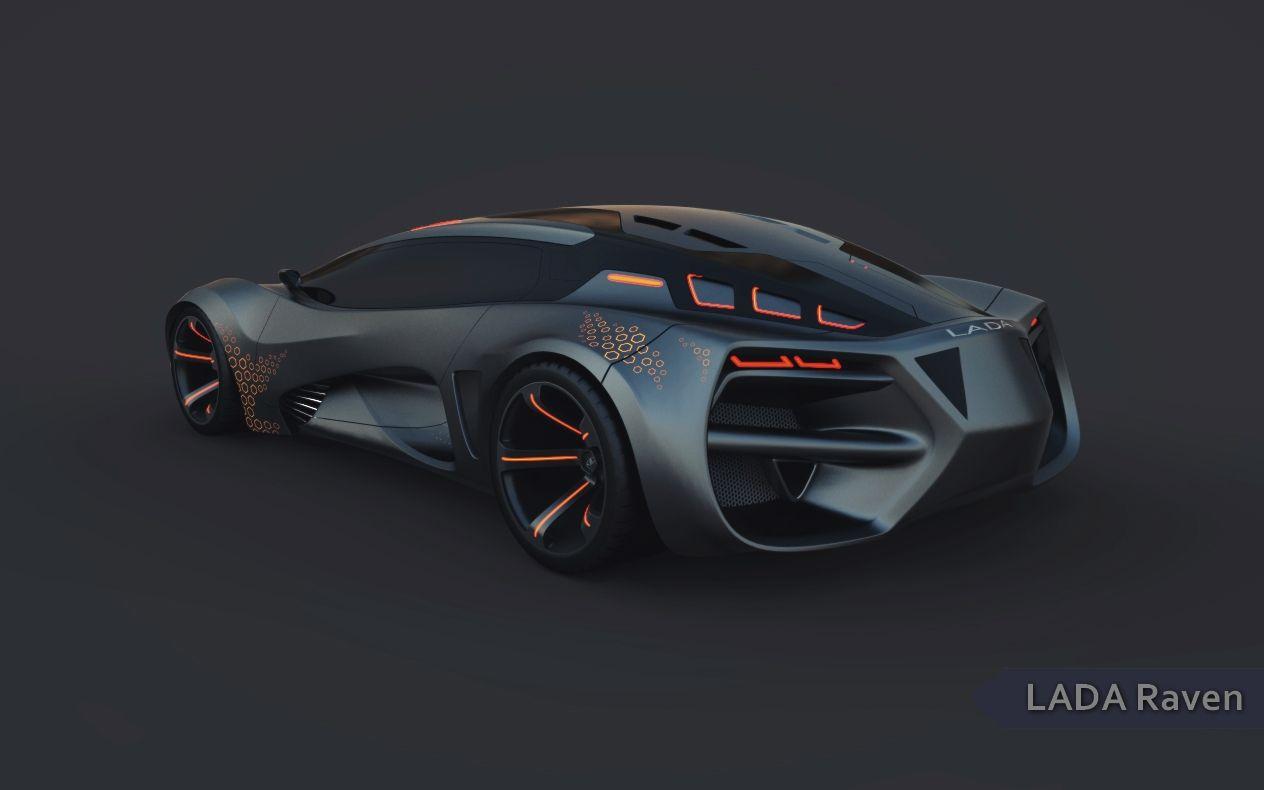 lada raven concept car 2013 характеристики
