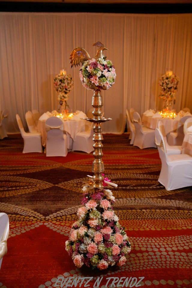 Pin By Abhishek Gulve On Royal Jewellery Goddess Decor Oil Lamp Decor Beautiful Wedding Decorations