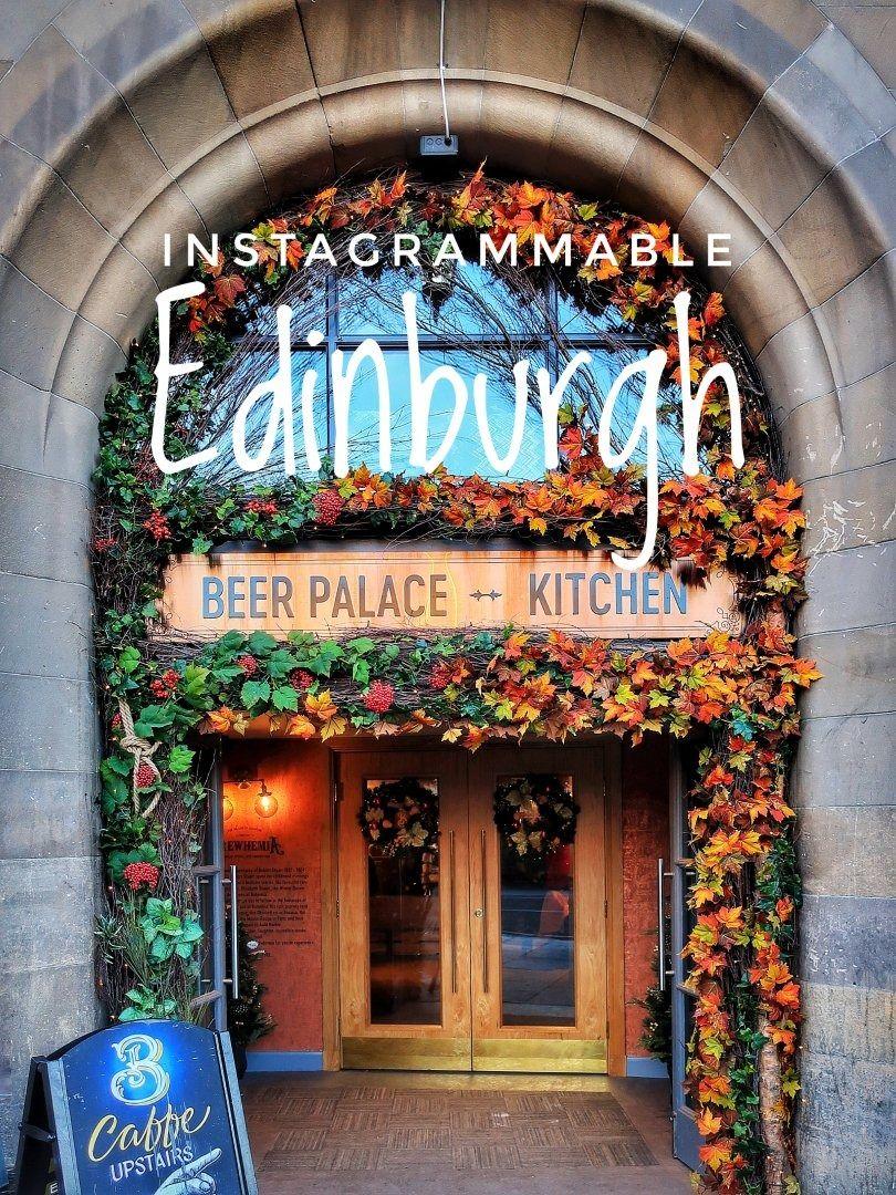 Stunning Floral Entrance For Brewhemia Edinburgh Entrance