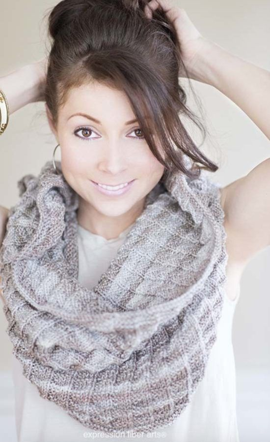 Knitted Cowl Hood Free Pattern Watch The Video Tutorial | Knit cowl ...