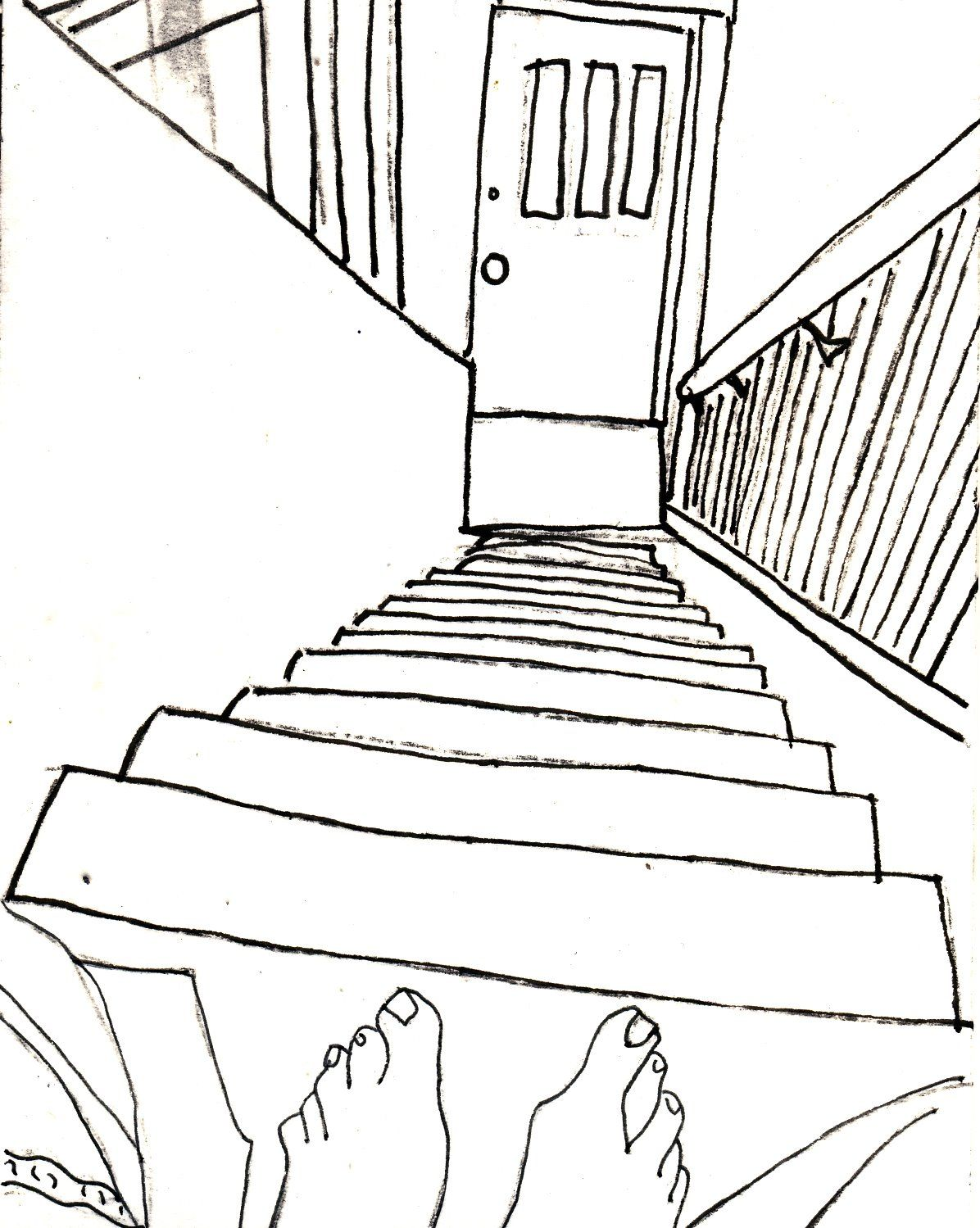 Contour Line Stairs