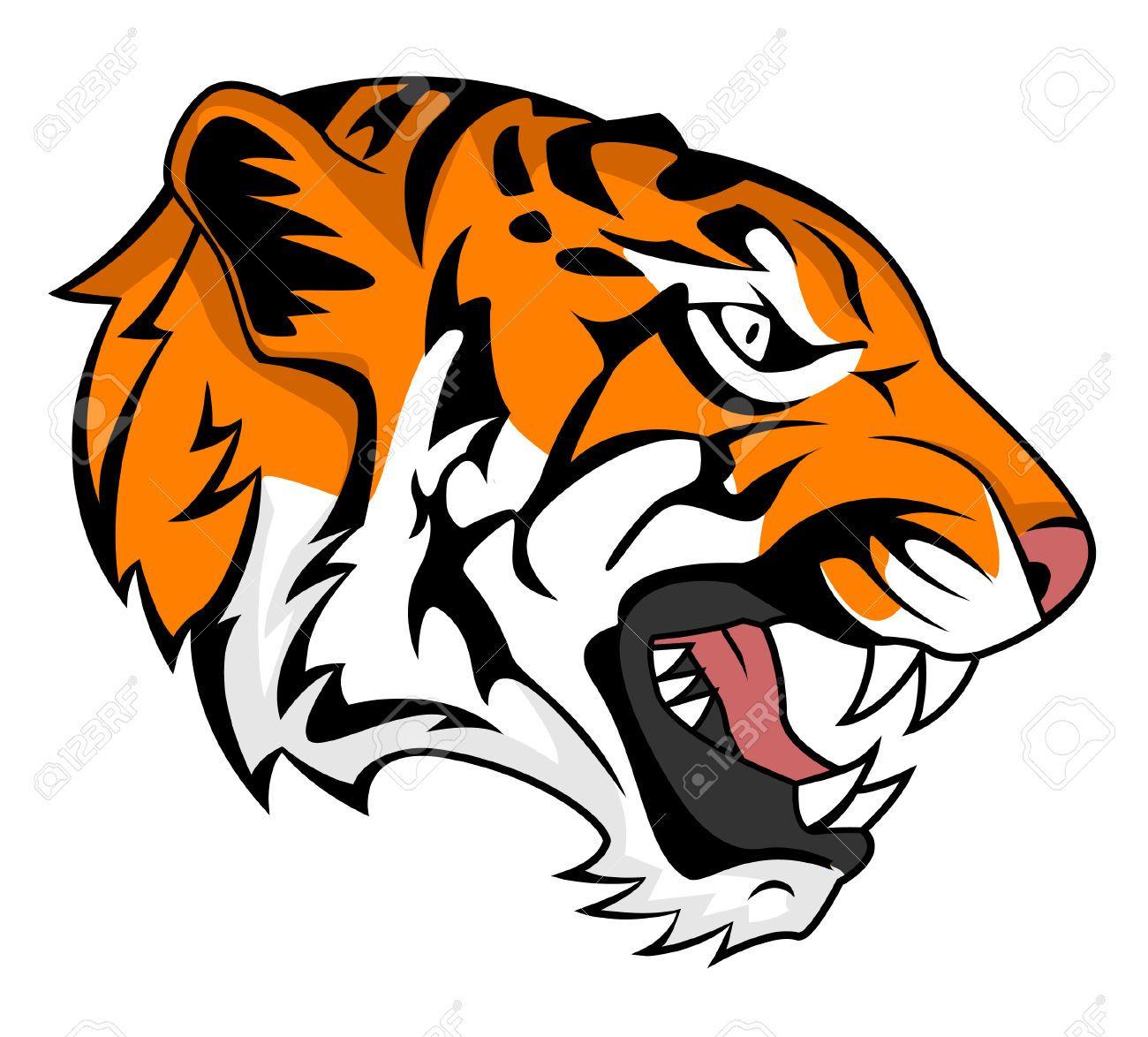 roaring tiger tattoo profile Google Search Seni