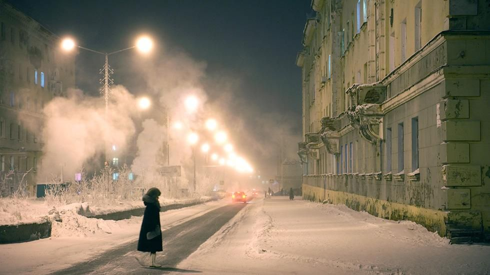 Stunning Photos of the World's Northernmost City http://www.weather.com/travel/norilsk-worlds-northernmost-city-photos-20140423