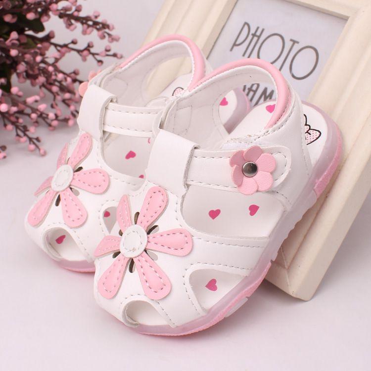baby girls sandals beautiful flower