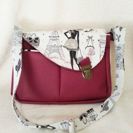 Et ChicSac Pochette Paris Fabric Besace BagsDenim Tuto Bag wOkX8n0P