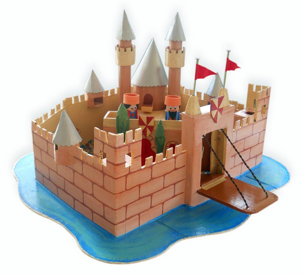 papelustro: Cardboard castle _ Castelo de cartão | Cardboard
